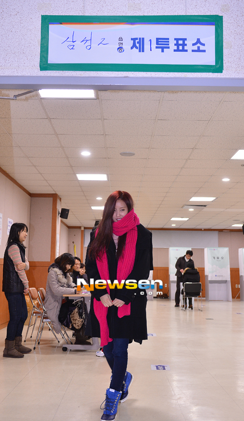 t-ara hyomin vote 2012 presidential election (1)