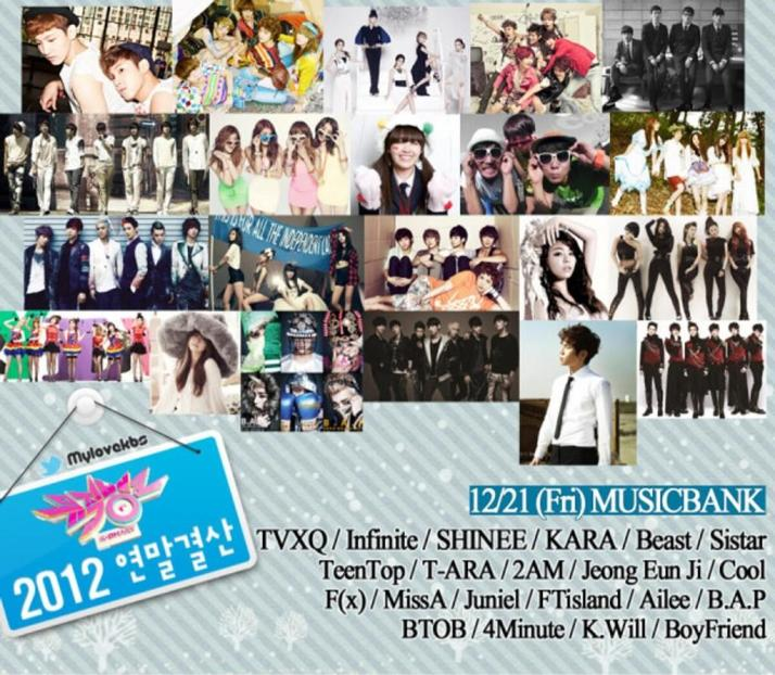 t-ara music bank 2012 year end special