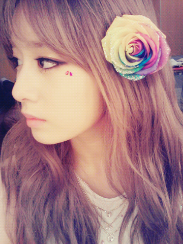 t-ara jiyeon lovely selca picture