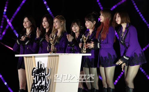 t-ara won bonsang 27th Golden Disk Awards