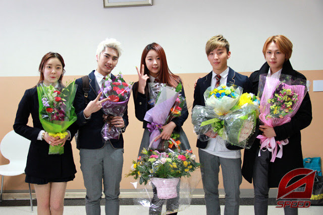 T-ara Areum with SPEED Sejun, Dal Shabet Subin, BAP Jongup & BtoB Ilhoon