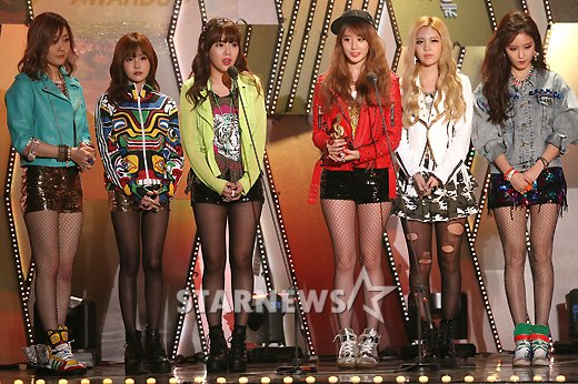 t-ara gaon chart k-pop awards