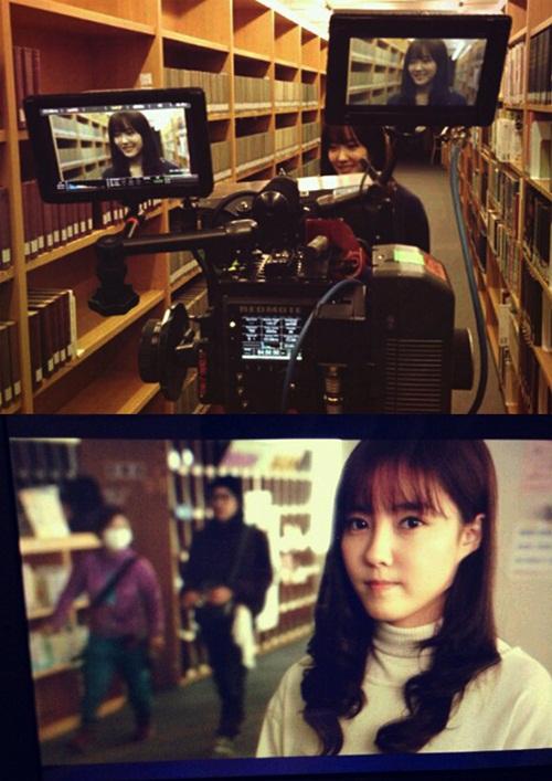 t-ara hyomin JINX movie filming (1)