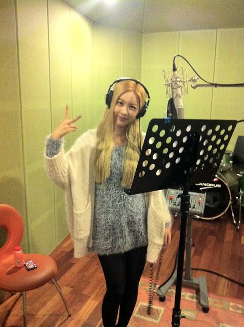 t-ara qri recording studio (1)