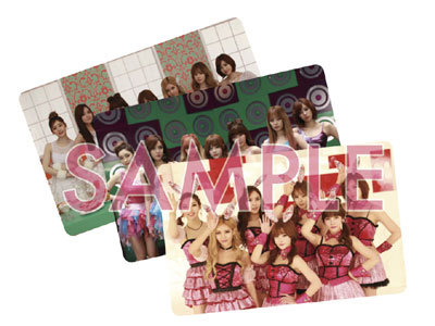 T-ara Bunny Style group cards
