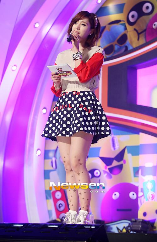 t-ara eunjung mbc show champion cuts (3)