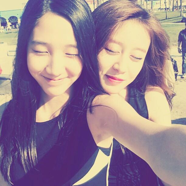 t-ara dani and jiyeon