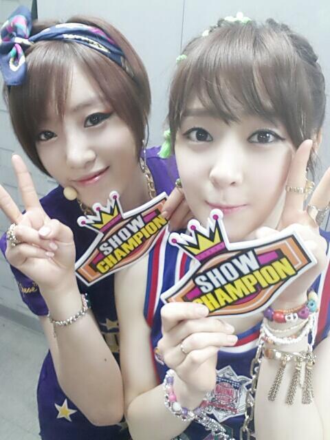t-ara eunjung areum show champion