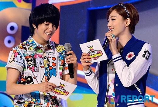t-ara eunjung show champion