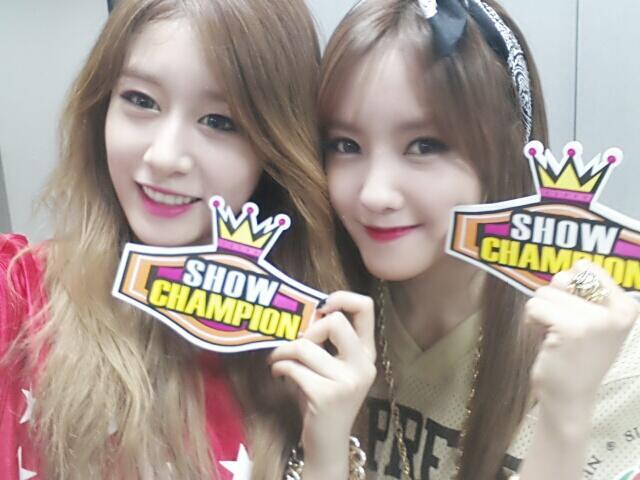 t-ara hyomin and jiyeon