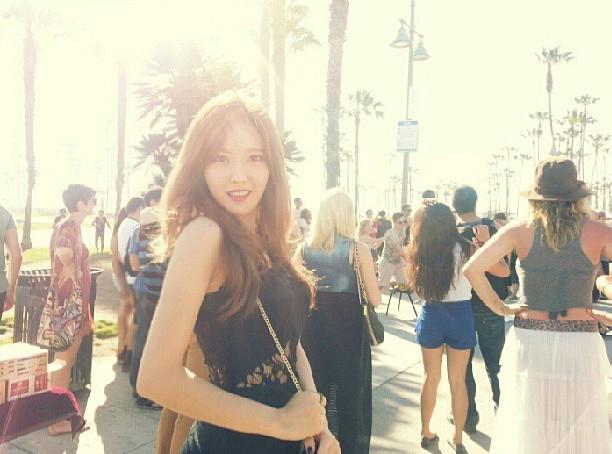 t-ara hyomin  in L.A (1)