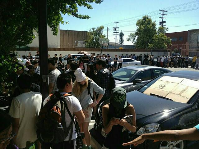 t-ara n4 meet and greet in L.A.