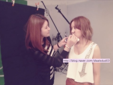 t-ara hyomin instyle bts pictures (1)
