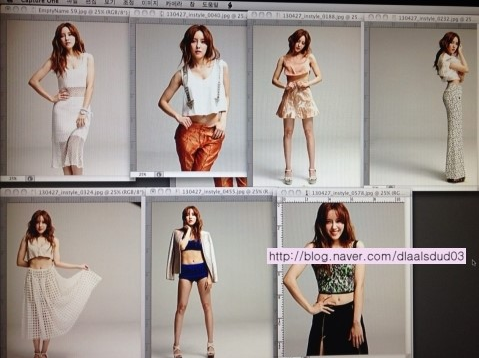 t-ara hyomin instyle bts pictures (4)