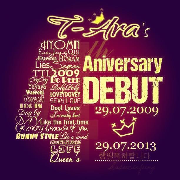 hyomin t-ara 4th anniversary