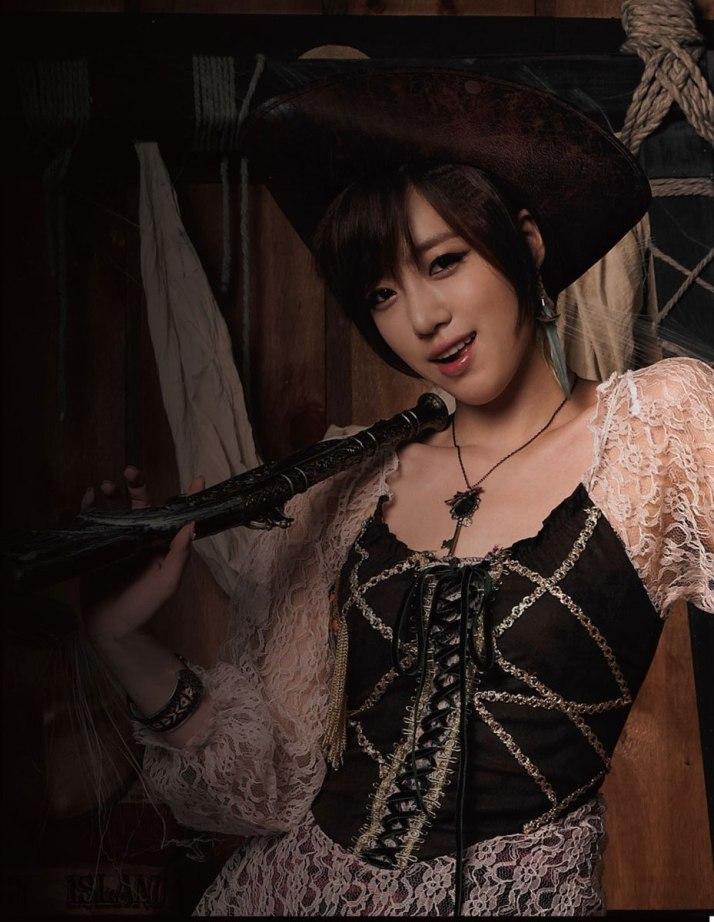t-ara eunjung treasure box concept pictures